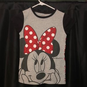 Girls Minnie Mouse Disney T Shirt